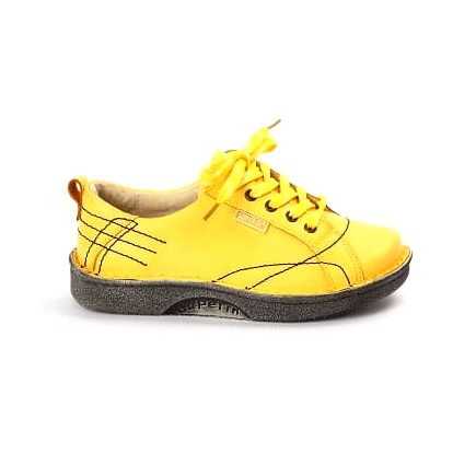 Dámská jarní obuv SUPER-IN žlutá