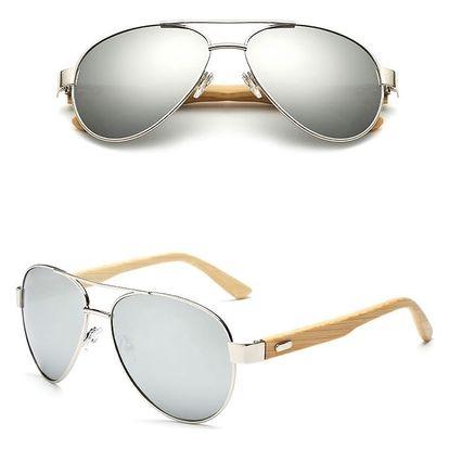 Sluneční brýle Pilot s dřevěnými nožičkami: 6 barev