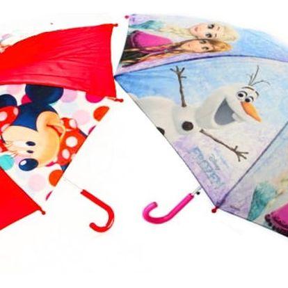 Deštníky pro děti s pohádkovými motivy