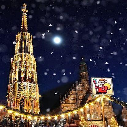 Celodenní zájezd pro 1 osobu na vánoční trhy do Norimberku v Německu