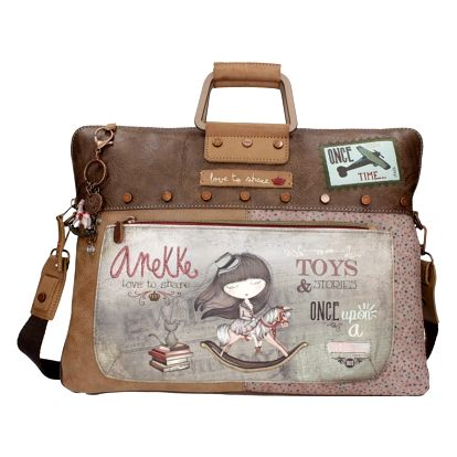 Anekke hnědá taška Stories