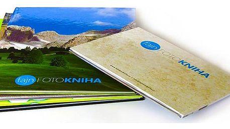Fotokniha A4 s vašimi vlastními fotografiemi o 40, 60 nebo 80 stranách