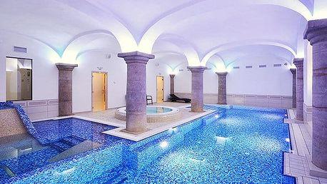 4 až 6denní wellness pobyt pro 2 s polopenzí v hotelu Malý Pivovar**** u Českého ráje