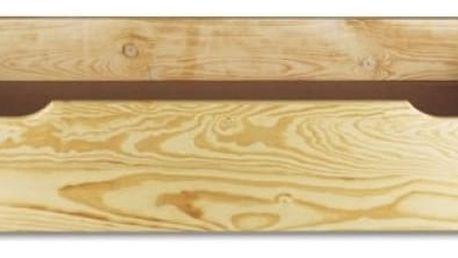Dřevěný šuplík pod postel LK 151