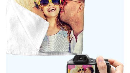 Ručník/osuška s vlastní fotografií, 2 rozměry na výběr
