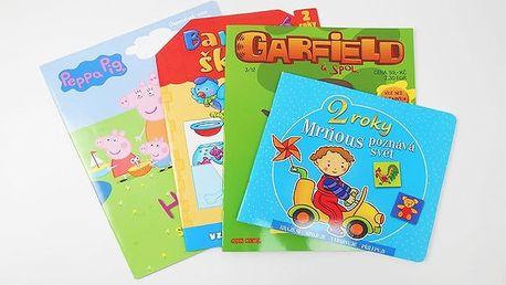 Výukové knihy a sešity pro děti do 6 let i školáky