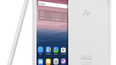 Dotykový tablet ALCATEL ONETOUCH PIXI 3 (8) WIFI (8070-2BALCZ1) bílý Čistící gel ColorWay CW-5151 (zdarma)