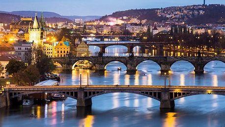 2–4denní pobyt pro 2 se snídaněmi na břehu Vltavy v Praze v hotelu Bohemians***