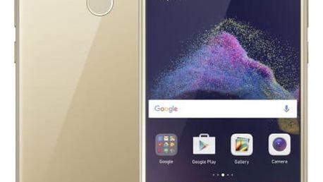 Huawei P9 Lite 2017 Dual SIM, zlatá + spousta dárků