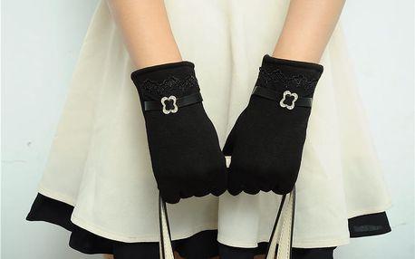 Elegantní dámské rukavice na dotykový displej: 7 barev