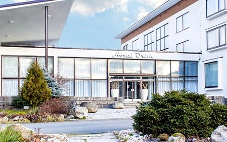 2denní pobyt až pro 10 osob s neomezeným wellness u Orlíku ve vilách u hotelu Orlík****