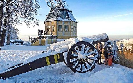 Celodenní adventní zájezd pro 1 do Drážďan a pevnosti Königstein