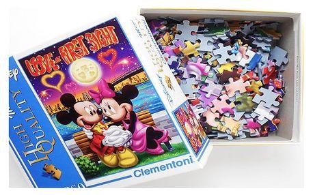 Puzzle pro děti s motivem Mickey Mouse