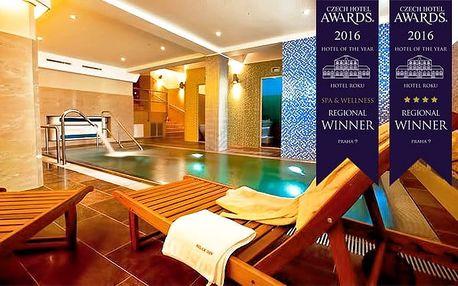 2 nebo 3denní wellness pobyt pro 2 se snídaněmi v luxusním hotelu Relax Inn**** v Praze