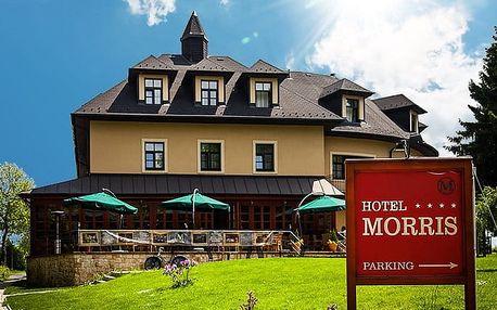 5denní wellness pobyt se 4 hvězdičkami pro 2 v Golf Hotelu Morris v Mariánkách