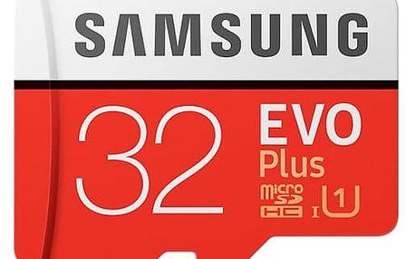 Samsung Micro SDHC karta 32GB EVO Plus(Class10 UHS-1)+SD adaptér