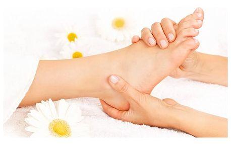 Hodinová reflexní terapie plosek nohou ve studiu Sen v Praze