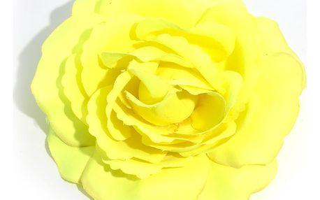 Brož Růže textilní