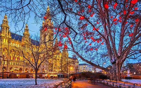 Celodenní zájezd pro 1 osobu na vánoční trhy do Vídně v Rakousku