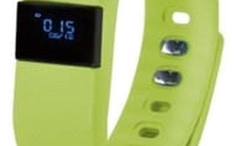Fitness náramek GoClever SMART BAND (GCWSBG) zelený