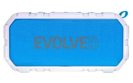 Přenosný reproduktor Evolveo Armor FX7 (ARM-FX7-BLUE) bílé/modré