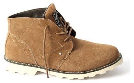 Pánská zimní obuv FASHION hnědá