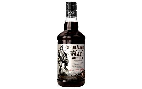 Captain Morgan Black Spiced 0,7 40%