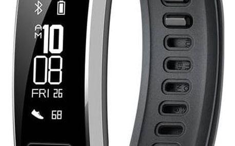 Fitness náramek Huawei Band 2 Pro (WA-BAND2PBOM) černý + Doprava zdarma