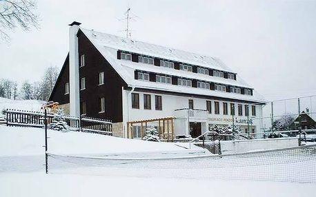 3 nebo 4denní wellness pobyt s polopenzí pro 2 v penzionu Kamzík v Českém Švýcarsku