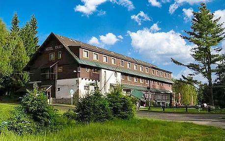 3 až 6denní wellness pobyt s polopenzí pro 2 či rodinu v hotelu Maxov*** v Jizerkách