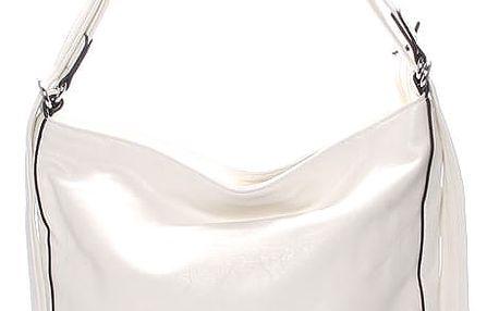 Dámská crossbody kabelka bílá - Delami Francina bílá