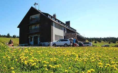 3–6denní pobyt s polopenzí a saunou v hotelu Dvorská bouda v Krkonoších pro 2 či rodinu