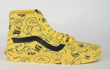 Boty Vans UA SK8-HI REISSUE (PEANUTS) Žlutá