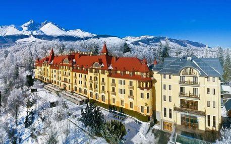 Slovensko, Vysoké Tatry, vlastní dopravou na 5 dní snídaně