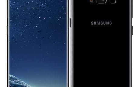 Mobilní telefon Samsung S8 - Midnight Black (SM-G950FZKAETL) Paměťová karta Kingston MicroSDHC 16GB UHS-I U1 (45R/10W) v hodnotě 238 Kč + DOPRAVA ZDARMA