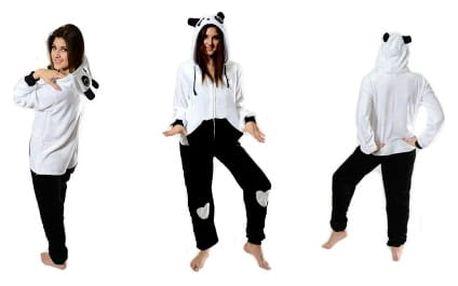 Originální overal Kigurumi SLIM - Panda
