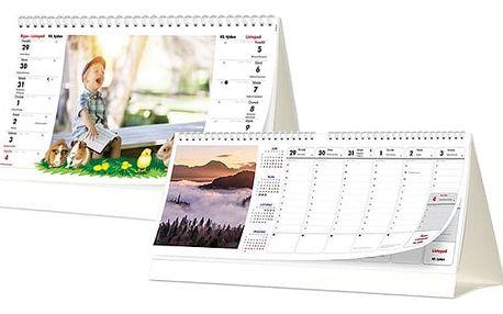 Stolní kalendář z vlastních fotografií