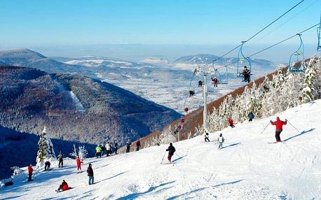 3–5denní zimní pobyt pro 2 s neomezeným wellness v Mountain resortu Morávka*** v Beskydech