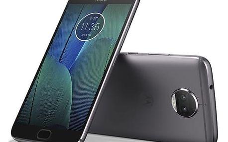 Mobilní telefon Motorola Moto G5s Plus Dual SIM (PA6V0096CZ) šedý Software F-Secure SAFE 6 měsíců pro 3 zařízení v hodnotě 979 Kč + DOPRAVA ZDARMA