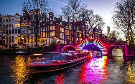 4denní zájezd pro 1 do rozzářeného předvánočního Amsterdamu se světelnou show