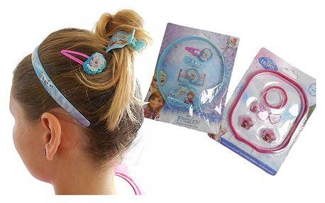 Vlasové doplňky s motivem pohádkových postav pro vaši malou princeznu