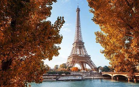 3denní zájezd pro 1 osobu do podzimní Paříže