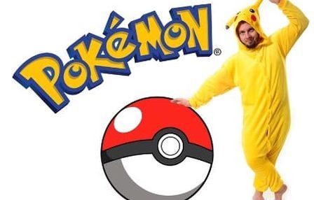 Originální overal Kigurumi - Pikachu
