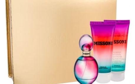 Missoni Missoni 2015 dárková kazeta pro ženy parfémovaná voda 50 ml + tělové mléko 100 ml + sprchový gel 100 ml