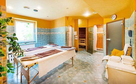3 až 6denní wellness pobyt pro 2 s různými procedurami v hotelu Haná v Mariánských Lázních