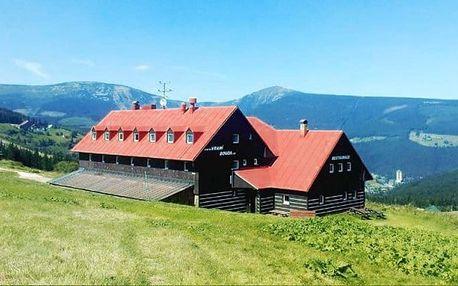 3 až 6denní pobyt pro 2 s polopenzí v pensionu Vraní bouda v Peci pod Sněžkou