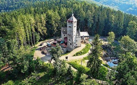 3–6denní pobyt s polopenzí pro 2 osoby v hotelu Liberecká výšina