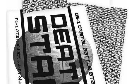 Herding Bavlněné povlečení Star Wars Death Star, 140 x 200 cm, 70 x 90 cm