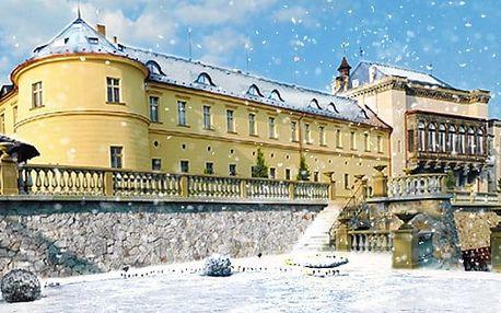 3denní luxusní pobyt s wellness a snídaněmi v Chateau hotelu Zbiroh**** pro 2 osoby