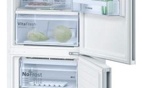 Kombinace chladničky s mrazničkou Bosch KGN36VW35 bílá + DOPRAVA ZDARMA